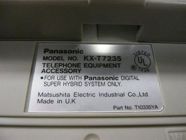 KX-T7235 Panasonic image