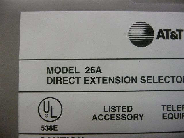 26A AT&T/Lucent/Avaya image