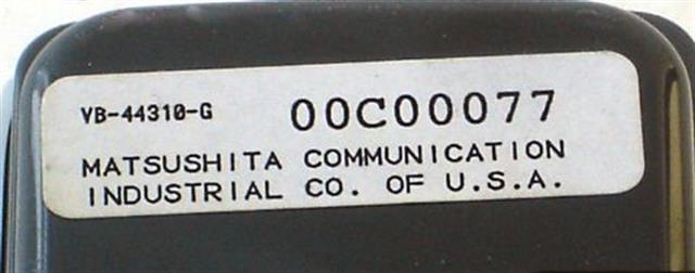 VB-44310-G Panasonic image