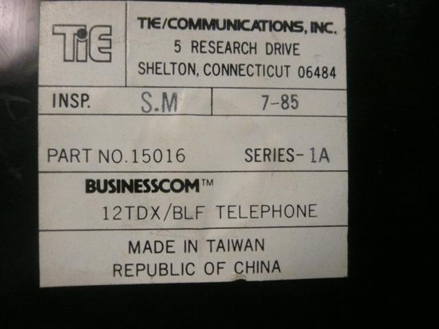 Nitsuko - Tie 15016 (B-Stock) Phone image