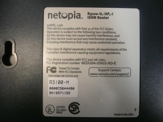 R3100 Netopia image