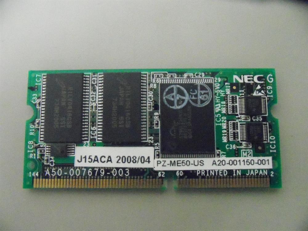 PZ-ME50-US - 670127 - MEM NEC image