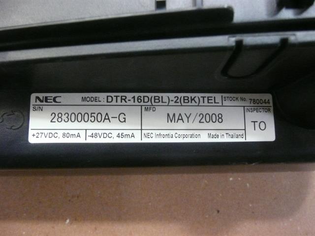 DTR-16D(BL)-2 / 780044 NEC image