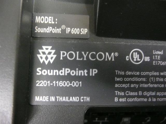 2200-11600-001 (IP 600 SIP) PolyCom image