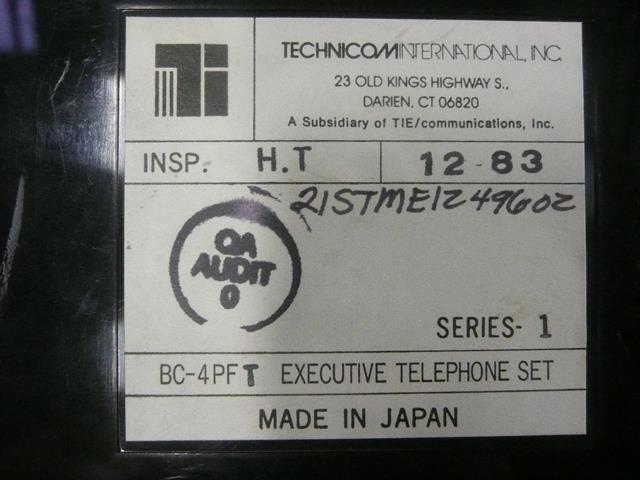 BC-4PFT Technicom image