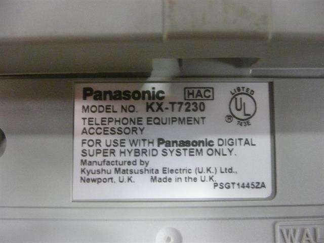 KX-T7230 Panasonic image