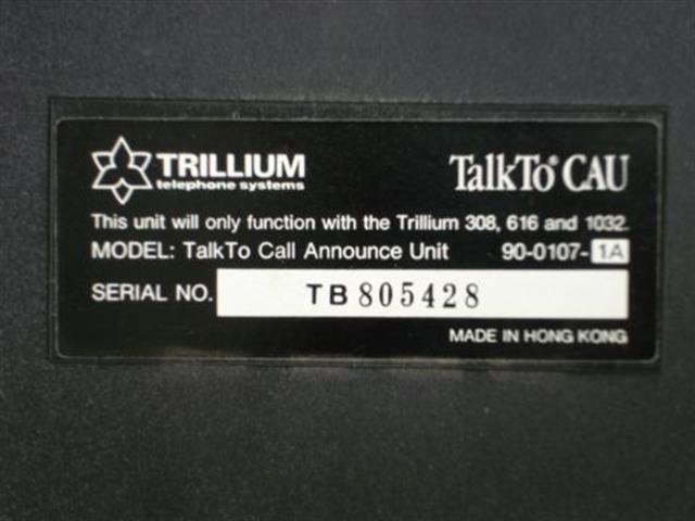 90-0107 Trillium image