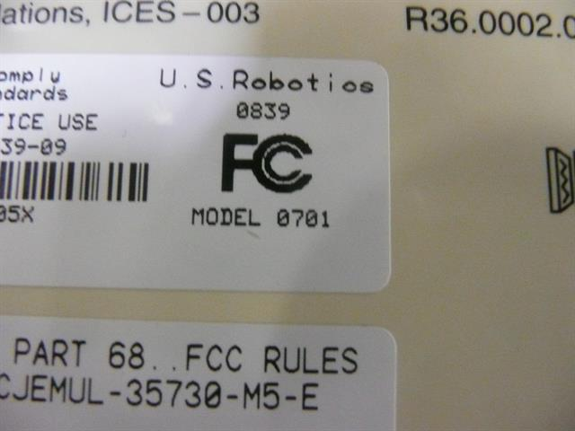 000839-09 US Robotics image