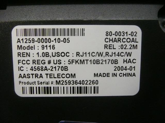 A1259-0000-10-05 Nortel / AAstra image
