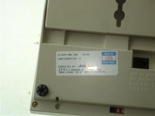 911875-M0E-20E ITT Cortelco eOn image