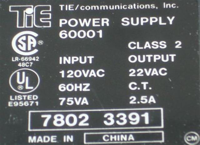 60001 NEC - Nitsuko - Tie image