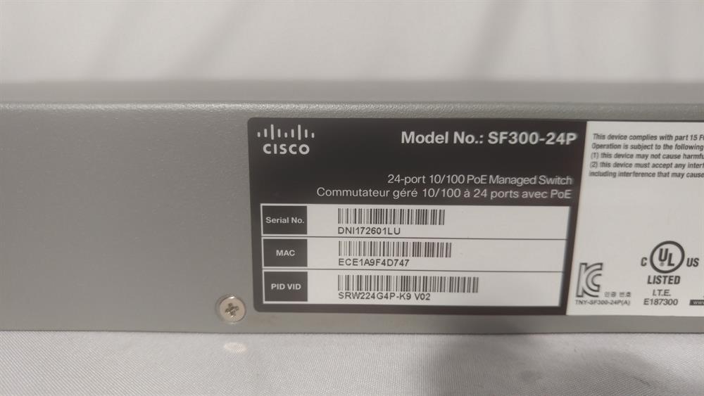 SP300-24P Cisco image