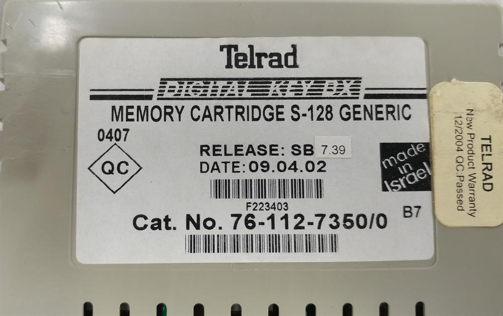 76-112-7350 (Version 7.39) Telrad image
