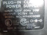 9v Power Supply WP480909D image