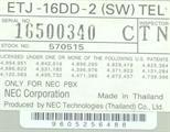 ETJ-16DD-2 / 570515 image